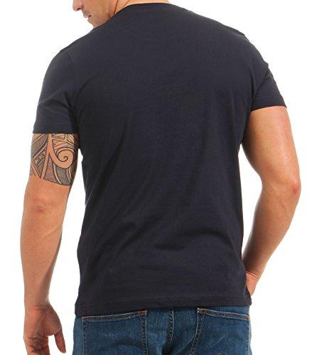 Alpha Industries Herren Oberteile/T-Shirt NASA Reflective Rep.Blue