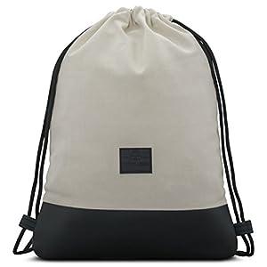 41xlqQj7dHL. SS300  - Mochila de Cuerda Antracita/Negro - JOHNNY URBAN Bolsa de Cuerdas para Hombre Mujer Niños y Adolescentes - Mochilas…
