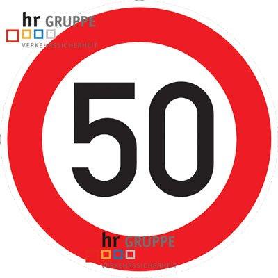 Compleanno-traffico scudo 50km/h scudo DN 60cm N. 274-57al compleanno come regalo di compleanno per i trasporti segno stvo 600mm compleanno RAL traffico schwabmarken cartello stradale segnali stradali segnali stradali compleanno cartello stradale segno