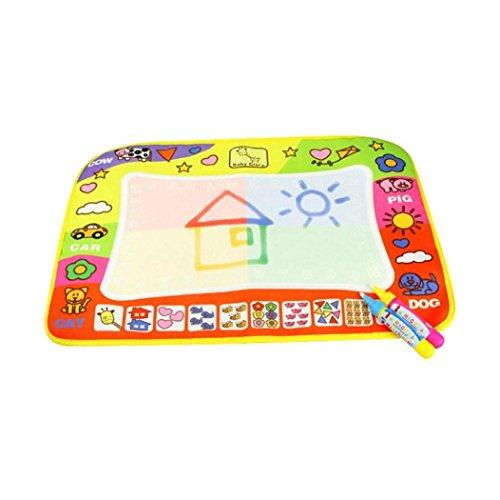 Koly Magic Pen Doodle del Aqua de los niños los juguetes del dibujo Mat juguete educativo Mat 1 + 2