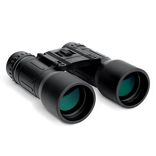 APEMAN 10x42 Prismáticos binoculares observación de Aves Deportes portátiles de fútbol prismáticos Plegables compactos Lente recubierta portátil