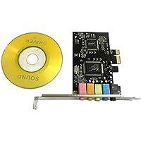 PCI-E PCI Express 6 Kanal 5.1 CMI8738 Audio Soundkarte PC Computer Kompatibel Für Windows Gewöhnliche Soundkarte Erweiterungskarte