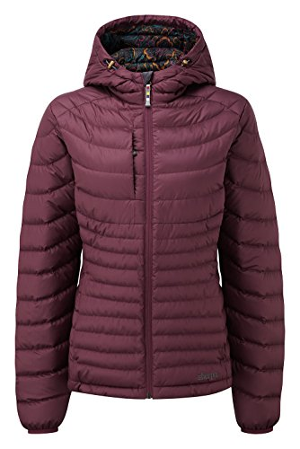 Sherpa Damen nangpala Mantel mit Kapuze XL Anaar -