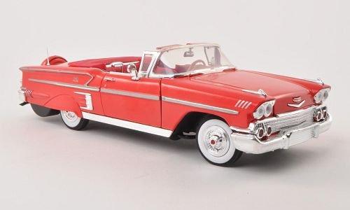 chevrolet-impala-convertibile-rosso-1958-modello-di-automobile-modello-prefabbricato-motormax-118-mo
