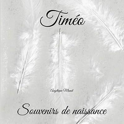 TIMEO Souvenirs de naissance: album à compléter et personnaliser avec vos photos