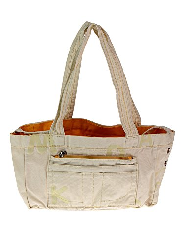 Mandarina Duck Shopping, Borsa tote donna bianco Natural/V2T04984