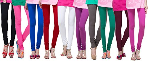 Uzee Red Woman\'s Leggings