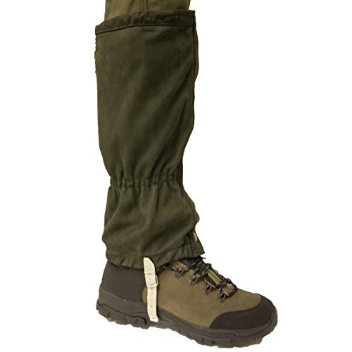 41xlwGh3xrL. SS500  - Bisley Leather Gaiters Brown Brown Other Hiking Clothing (27362)