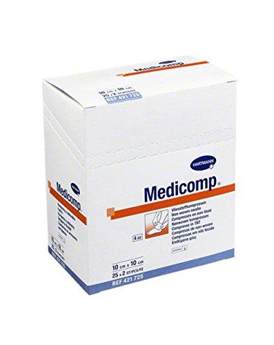 COMPRESAS MEDICOMP 10X10 50UNIDADES