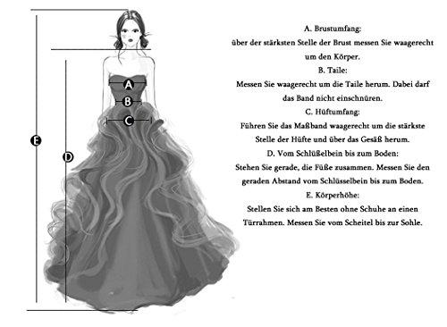 MicBridal®Big sale Robe de soirée longue, robe de cocktail, robe traine robe sirene femme avec imitation strass,paillettes perlée Blanc