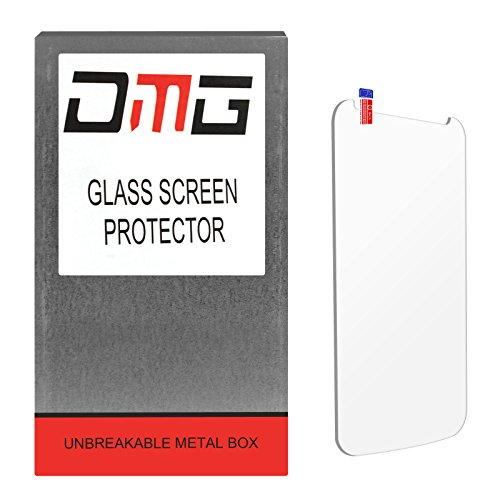 DMG Premium Ultra Clear Ballistic 9H Tempered Glass Screen Protector for SAMSUNG GALAXY NOTE 3 [Unbreakable Metal Box Packing]