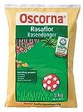 Oscorna Rasaflor Rasendünger, organischer NPK Langzeitdünger, 5 Kg Sack, 3,39 EUR/1 Kg