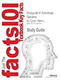 Studyguide for Schrodinger Operators by Cycon, Hans L., ISBN 9783540167587 (Cram101 Textbook Outlines)