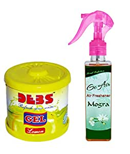 office air freshener. debonair combo debs 100gm premium carhomeoffice air freshener gel lemonu0026 go office