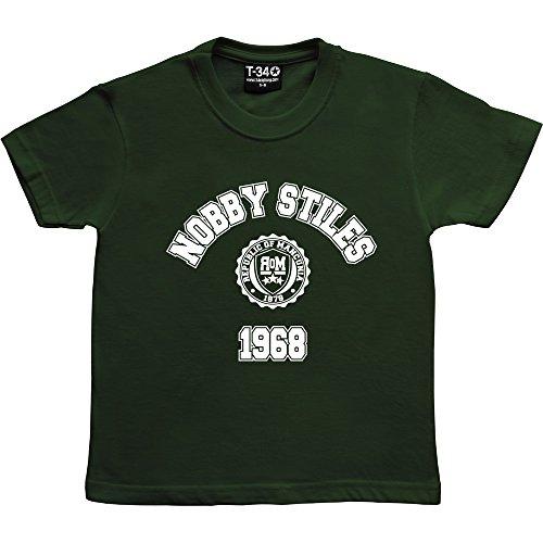 nobby-stiles-1968-racing-green-kids-t-shirt-5-6-years-white-print