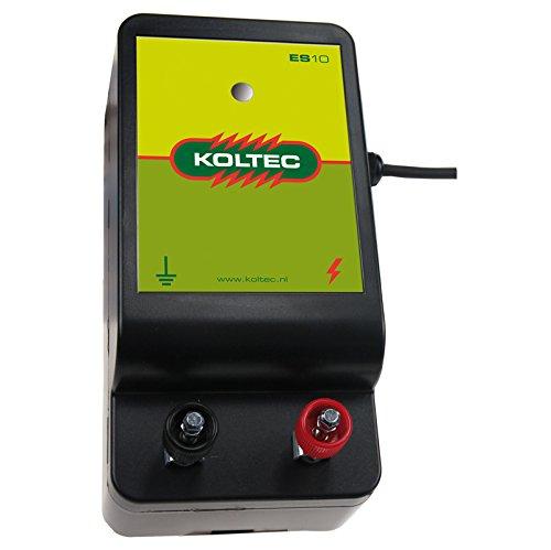 Koltec ES10 Weidezaungerät 230 Volt Netzgerät für Pferdewiesen und Paddocks