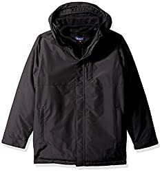 The Childrens Place Big Girls 3-in-1 Jacket, Black, XXL(16)