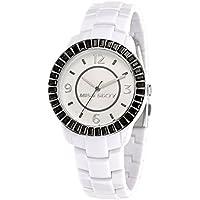 Miss Sixty R0753118506 - Reloj analógico para mujer de cuero plata