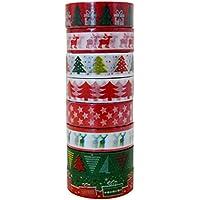 Millya Natale Washi nastro adesivo di carta