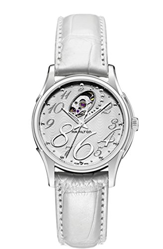 Hamilton Women's Analogue Automatic Watch with Leather Strap H32465953