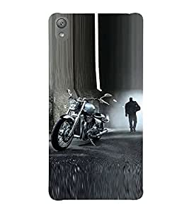 Fiobs Bike Motorcycle Cool Vehicle Swag Boy Designer Back Case Cover For Sony Xperia E5 Dual :: Sony Xperia E5