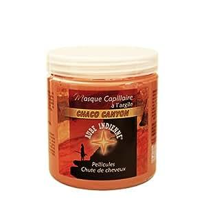 Aube Indienne masque capillaire chaco canyon argile orange - Pot 250 ml