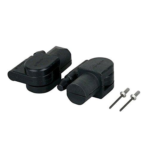 Innovative Systems Vorhangaufhänger (round drape support) Adapter Kit, schwarz - Drape Kit