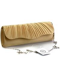 Monte Lovis Ladies Clutch Bag - Sac de soirée en différentes couleurs