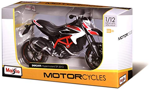May Cheong Group Maisto 31101, Modelo 1/12 Moto Ducati Diavel Carbon, modelos aleatorios