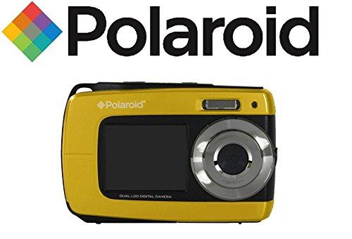 Bajo el agua impermeable cámara digital Polaroid iS085 16 Mega Pixeles con  2 pantallas (Amarillo 02e2063a06