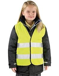 Neue Ergebnis Core Kid's Warnweste, hohe Sichtbarkeit, Polyester-Weste/Gilet