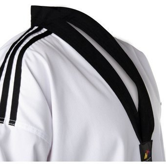 Adidas senior club dobok, bianco/nero, 170cm