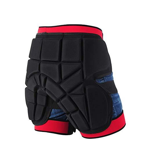 WJH Motorrad Rüstung Shorts, Protective Armor Pants, Body Guard Schutz für Hüften Beine Motorrad Fahren Motocross Racing Gear Bike Radfahren, Outfits für Männer und Frauen,S