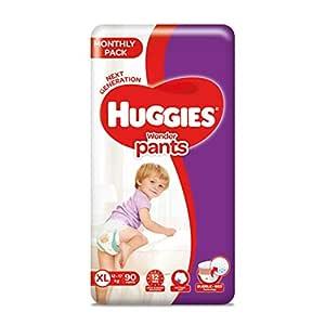 Huggies Wonder Pants, Mega Jumbo Pack Diapers, Extra Large (XL) Size, 90 Count