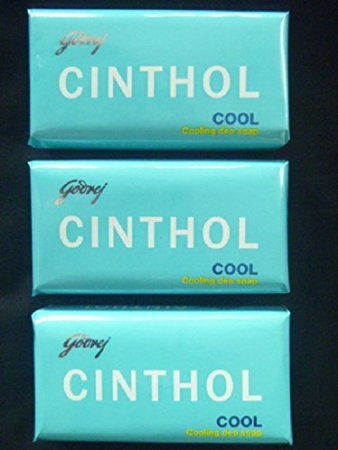 Cinthol Cool Soap, 75g (Pack of 3)
