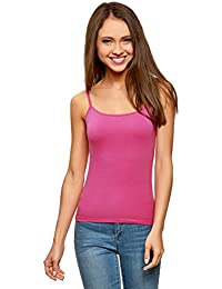oodji Ultra Women's Cami Top (Pack of 2)