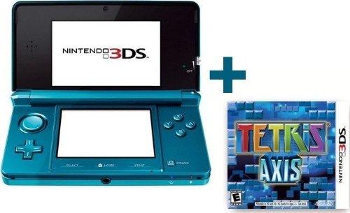 3DS BLEUE LAGON + TETRIS AXIS