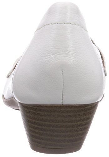 Jana - 22306, Scarpe col tacco Donna Bianco (Bianco)