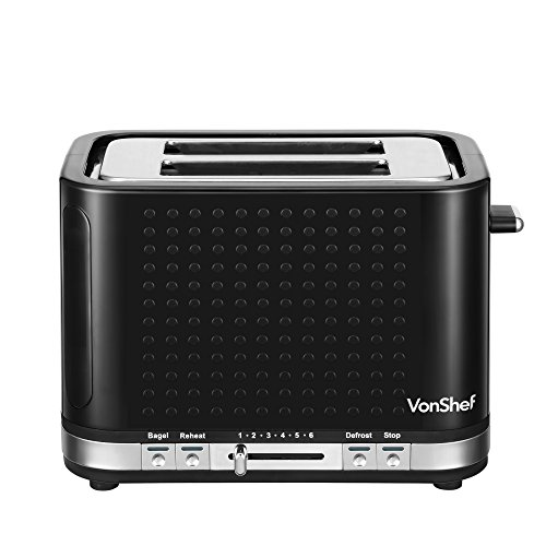 vonshef premium black kettle and toaster set at shop ireland. Black Bedroom Furniture Sets. Home Design Ideas