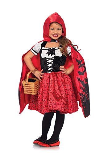 Leg Avenue C49103 - Storybook Riding Hood Kinderkostüm, Medium (122-128) (Rot ()