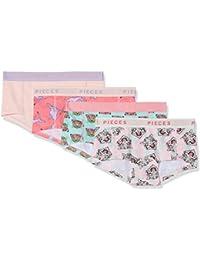 PIECES Damen Panties, 4er Pack
