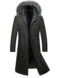 842cfcd975 Amazon.it: pelliccia bianca - Verde / Giacche e cappotti / Uomo ...