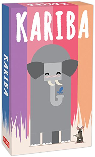 Helvetiq Kariba Juego de coleccionar Cartas - Juegos de Cartas (6 año(s), Juego de coleccionar Cartas, 99 año(s), 15 min, Reiner Knizia, 65 mm)