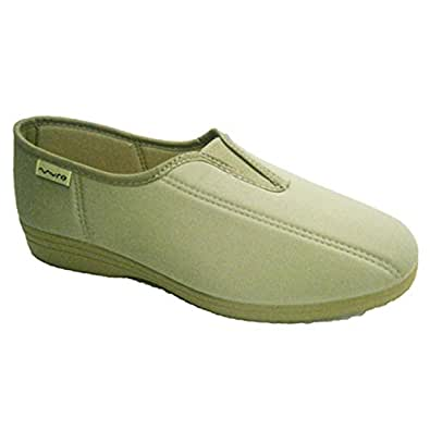 Lycra chaussure avec empeigne en caoutchouc Muro en beig taille 35