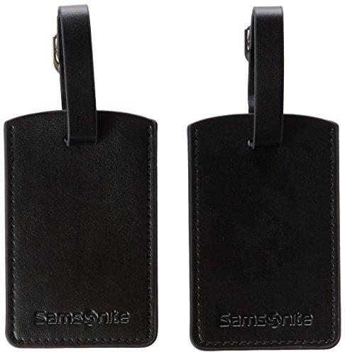 Samsonite Travel Accessor. V - Rect.Bag Tag (Set of 2) Gepäckanhänger, Schwarz