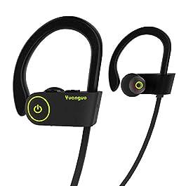 [FORZA ITALIA] Auricolari Bluetooth HolyHigh Auricolari senza fili Cuffie Bluetooth 4.1 Sportive IPX7 Impermeabile CVC 6…