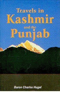Book cover for Travels in Kashmir and the Punjab