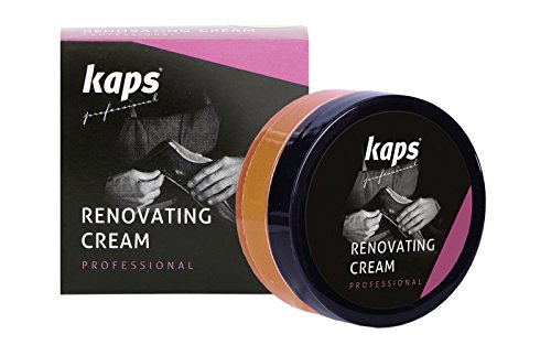 Crema impermeable para zapatos de piel suave, con cera natural y aplicador de esponja, 15colores marrón 109 - gazelle