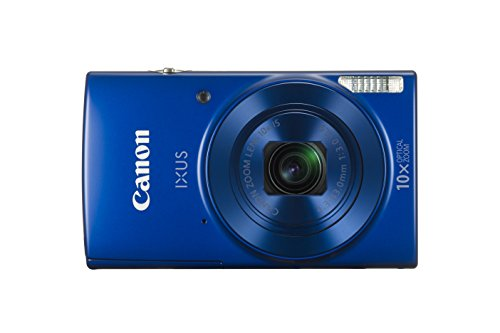 Canon IXUS 190 20MP Digital Camera with 10x Optical Zoom (Blue)
