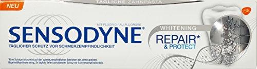 Sensodyne Repair und Protect Whitening Zahnpasta, 3er Pack (3 x 0.075 l) (Repair Und Protect Zahnpasta)